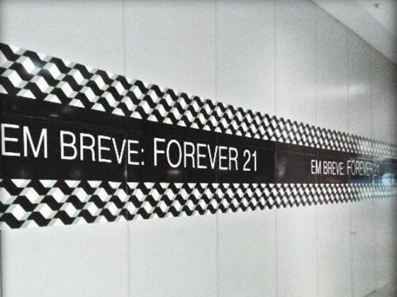 64 post - forever 21 no brasil